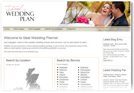 Ideal Wedding Plan - Directory Website